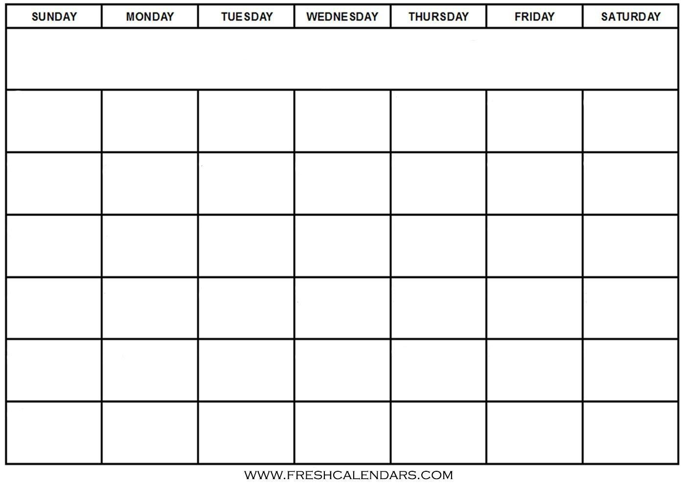 Blank Monthly Calendar Template Pdf Blank Calendar Wonderfully Printable 2019 Templates