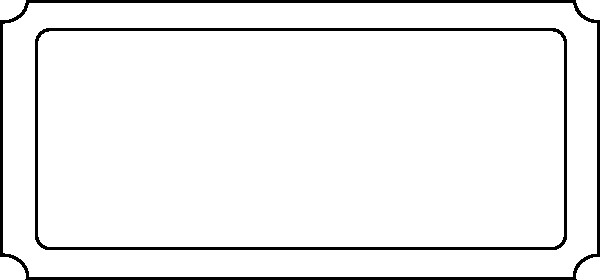 Blank Movie Ticket Template Movie Ticket Outline Google Search