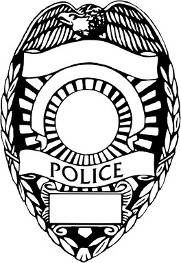 Blank Police Badge Template Blank Police Badge Clip Art Clipart Best Clipart Best