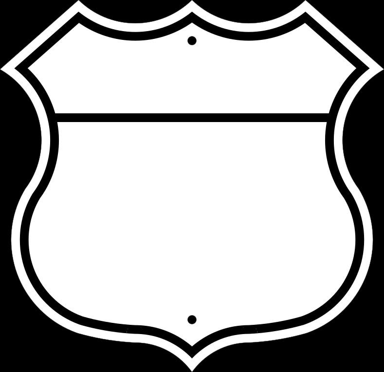Blank Police Badge Template File Blank Shieldg Wikimedia Mons