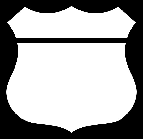 Blank Police Badge Template Px Blank Shield