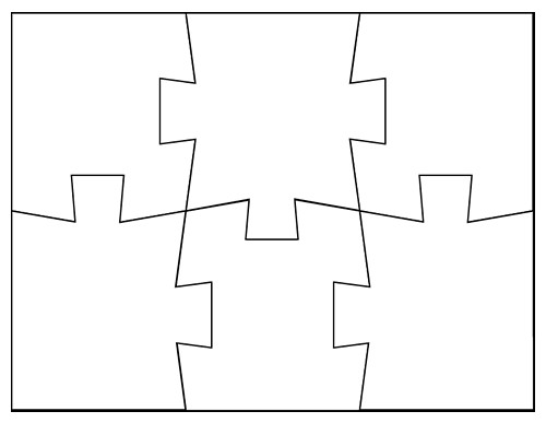 Blank Puzzle Pieces Template Blank Jigsaw Puzzle Templates