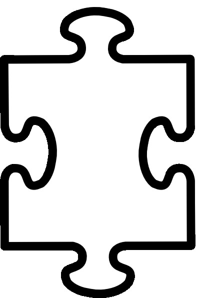 Blank Puzzle Pieces Template Printable Puzzle Pieces Template Clipart Best Clipart
