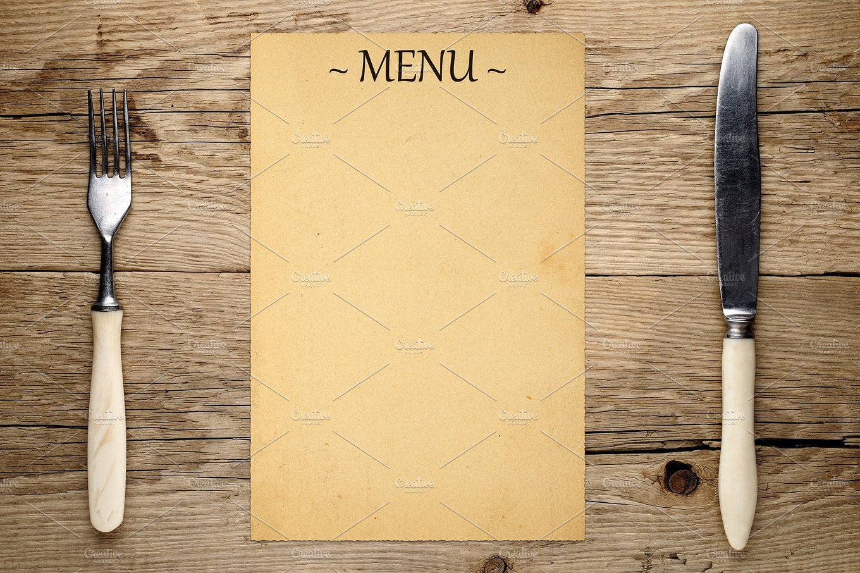 Blank Restaurant Menu Template 16 Blank Menu Designs Psd Vector format Download