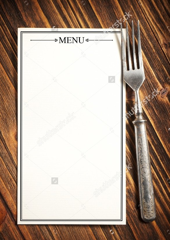 Blank Restaurant Menu Template 21 Blank Menus Templates Psd Ai Pages Docs