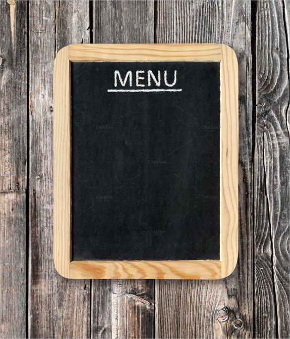 Blank Restaurant Menu Template 33 Menu Board Templates – Free Sample Example format