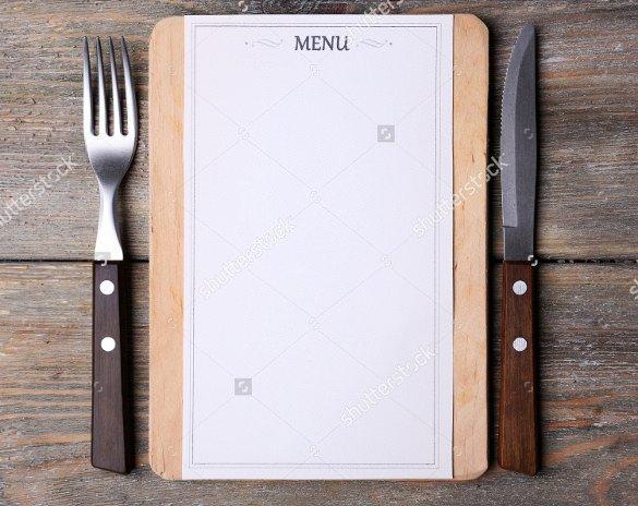 Blank Restaurant Menu Template 37 Blank Menu Templates Pdf Ai Psd Docs Pages