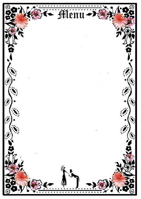 Blank Restaurant Menu Template 6 Best Of Printable Blank Restaurant Menus Free