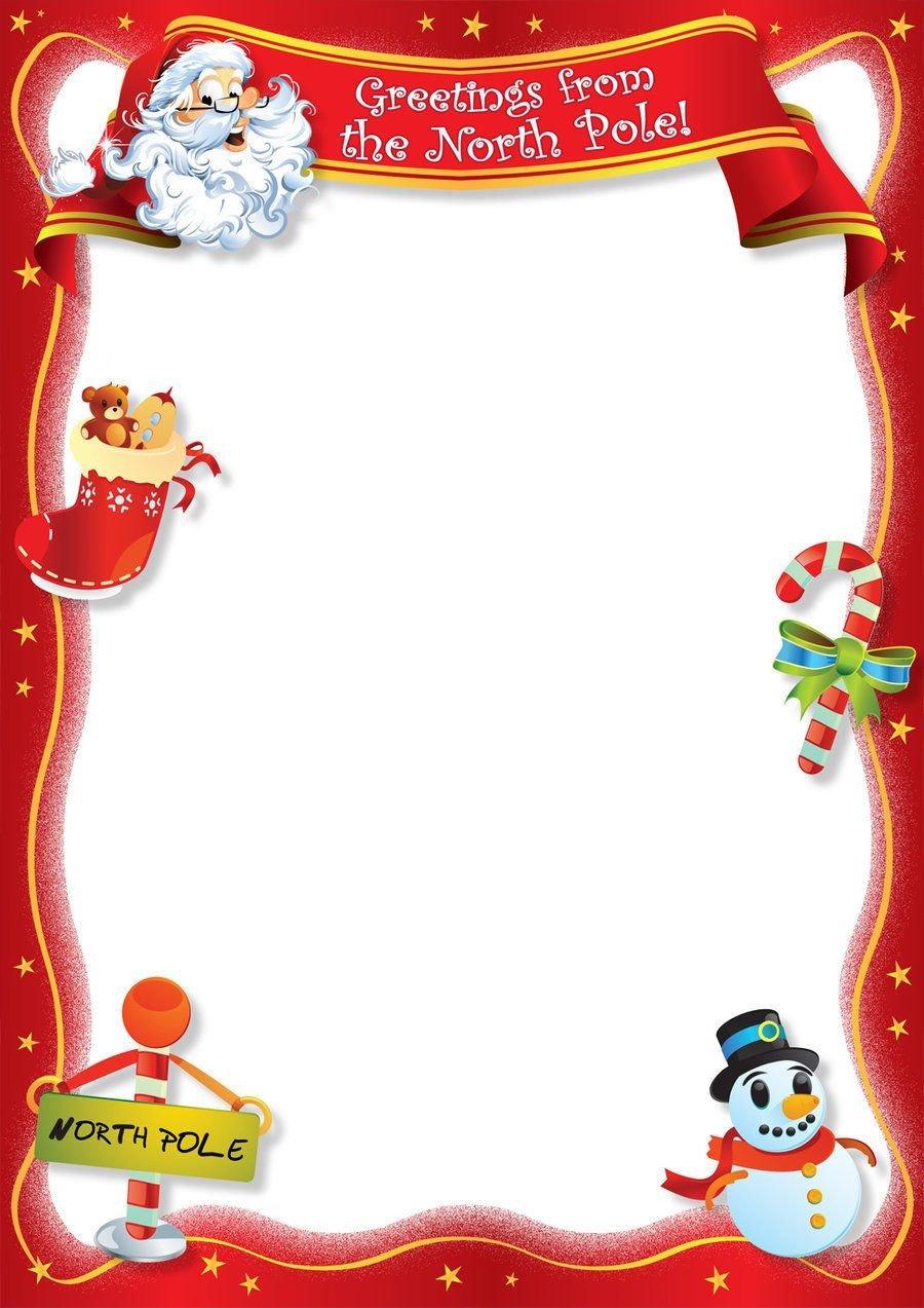 Blank Santa Letter Template Free Blank Letter From Santa Template New Calendar