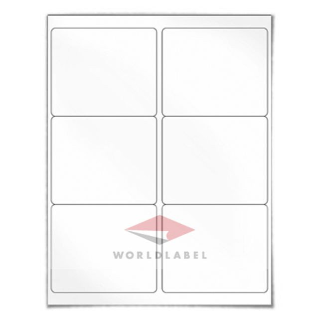 "Blank Shipping Label Template 600 Labels 4 X 3 33"" Blank Shipping Labels Uses Avery"