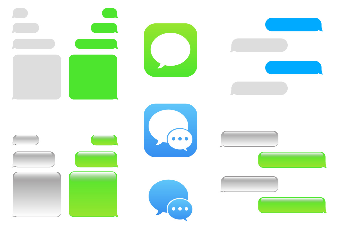 Blank Texting Template Free Imessage Vector Download Free Vector Art Stock