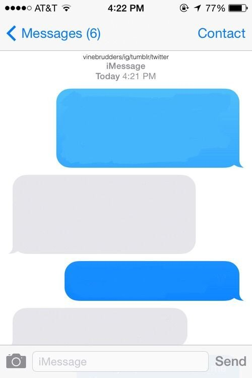 Blank Texting Template Freetoedit Blank Imessage Message iPhone Template