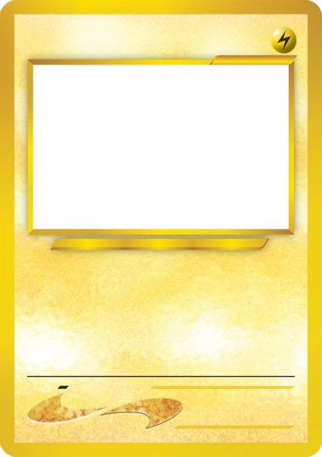 Blank Trading Card Template Blank Pokemon Card Template Best Photos Of Pokemon Trading