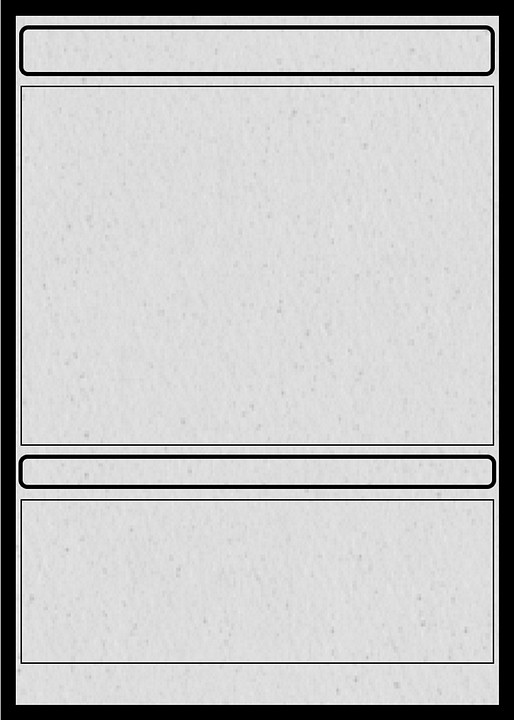 Blank Trading Card Template Card Trading Collectible · Free Image On Pixabay