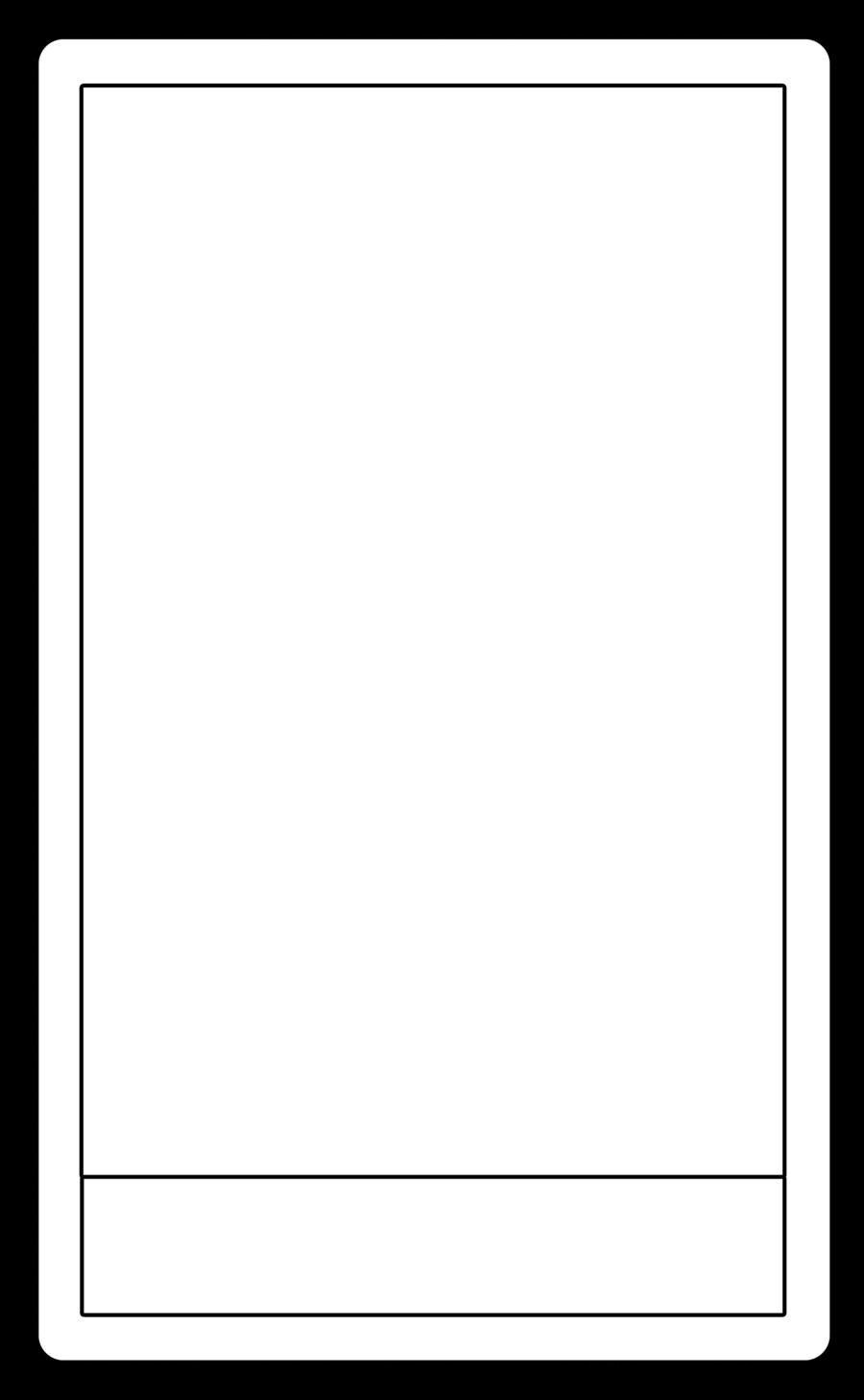 Blank Trading Card Template Tarot Card Template by Arianod On Deviantart