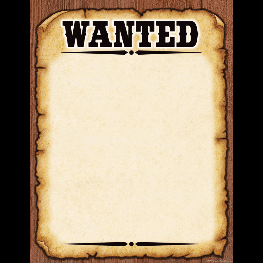 Blank Wanted Poster Template 7 Wanted Poster Templates Excel Pdf formats