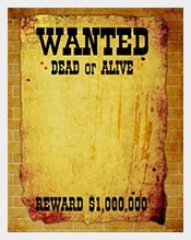Blank Wanted Poster Template 71 Wanted Posters – Free Printable Word Pdf Vector Eps