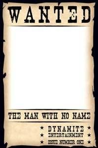 Blank Wanted Poster Template Blank Wanted Poster Template Free Bing Images
