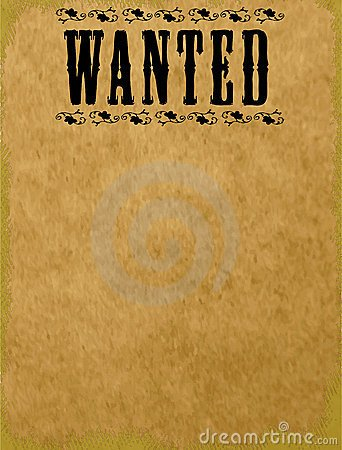 Blank Wanted Poster Template Wanted Blank Driverlayer Search Engine