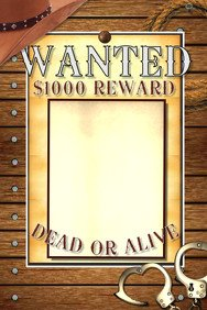 Blank Wanted Poster Template Wanted Poster Templates