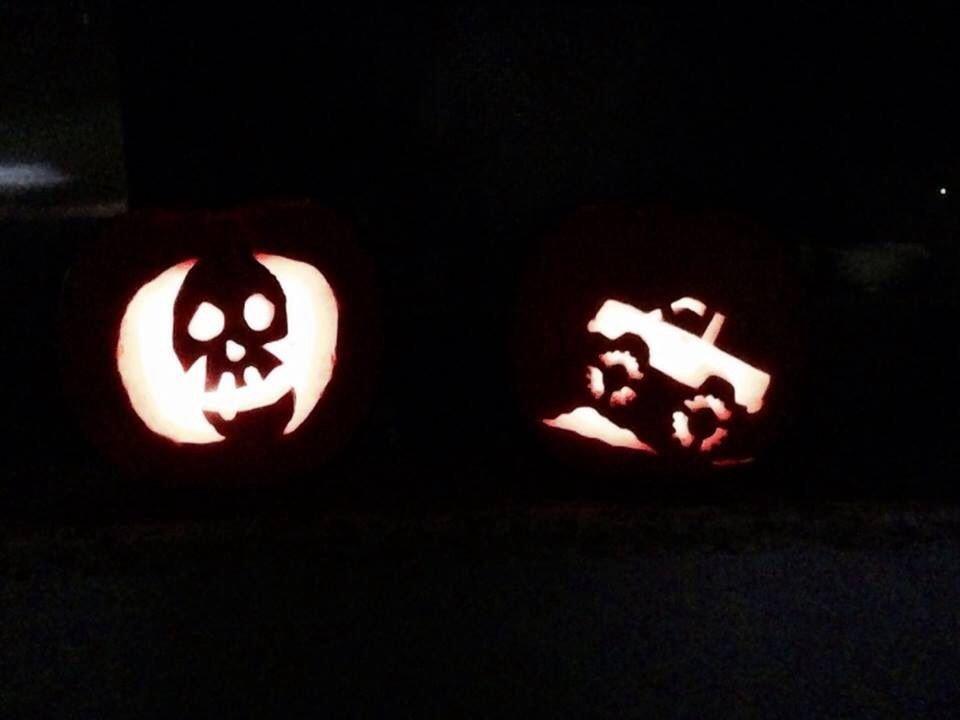 Blaze Pumpkin Carving Monster Truck Pumpkin Holidays