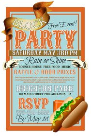 Block Party Flyer Templates 20 370 Customizable Design Templates for Block Party