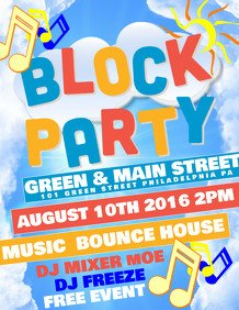 Block Party Flyer Templates 43 680 Customizable Design Templates for Block Party