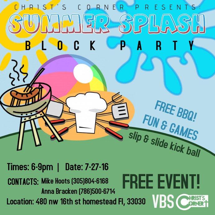 Block Party Flyer Templates Block Party Flyer Templates