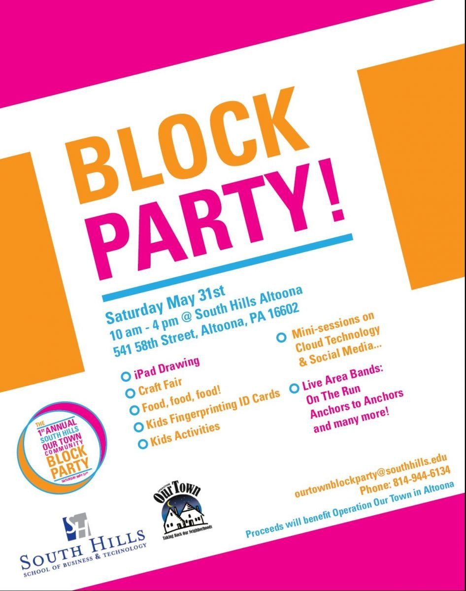Block Party Flyer Templates Munity Block Party May 31