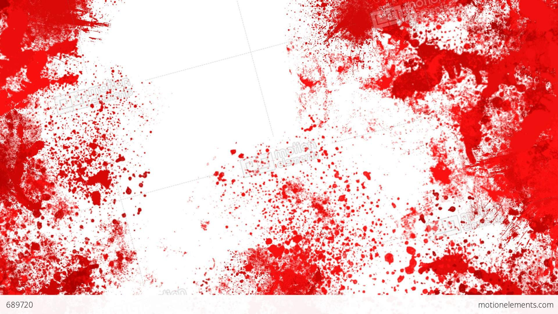 Blood Splatter Powerpoint Templates Blood Splashes Stock Animation