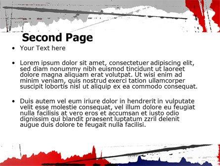 Blood Splatter Powerpoint Templates Blood Splatter theme Powerpoint Template Backgrounds