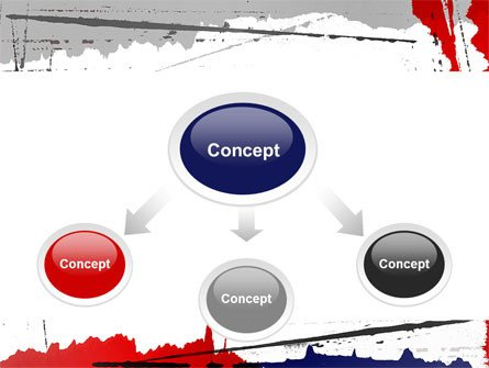 Blood Splatter Powerpoint Templates Free Blood Splatter theme Powerpoint Template Backgrounds