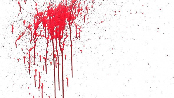 Blood Splatter Powerpoint Templates Physical Blood Splash by Fermu