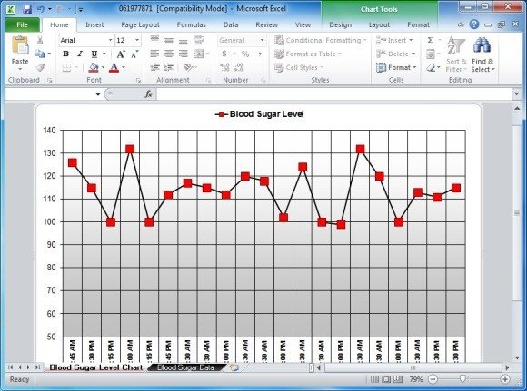 Blood Sugar Log Template Blood Sugar Tracker Template for Excel