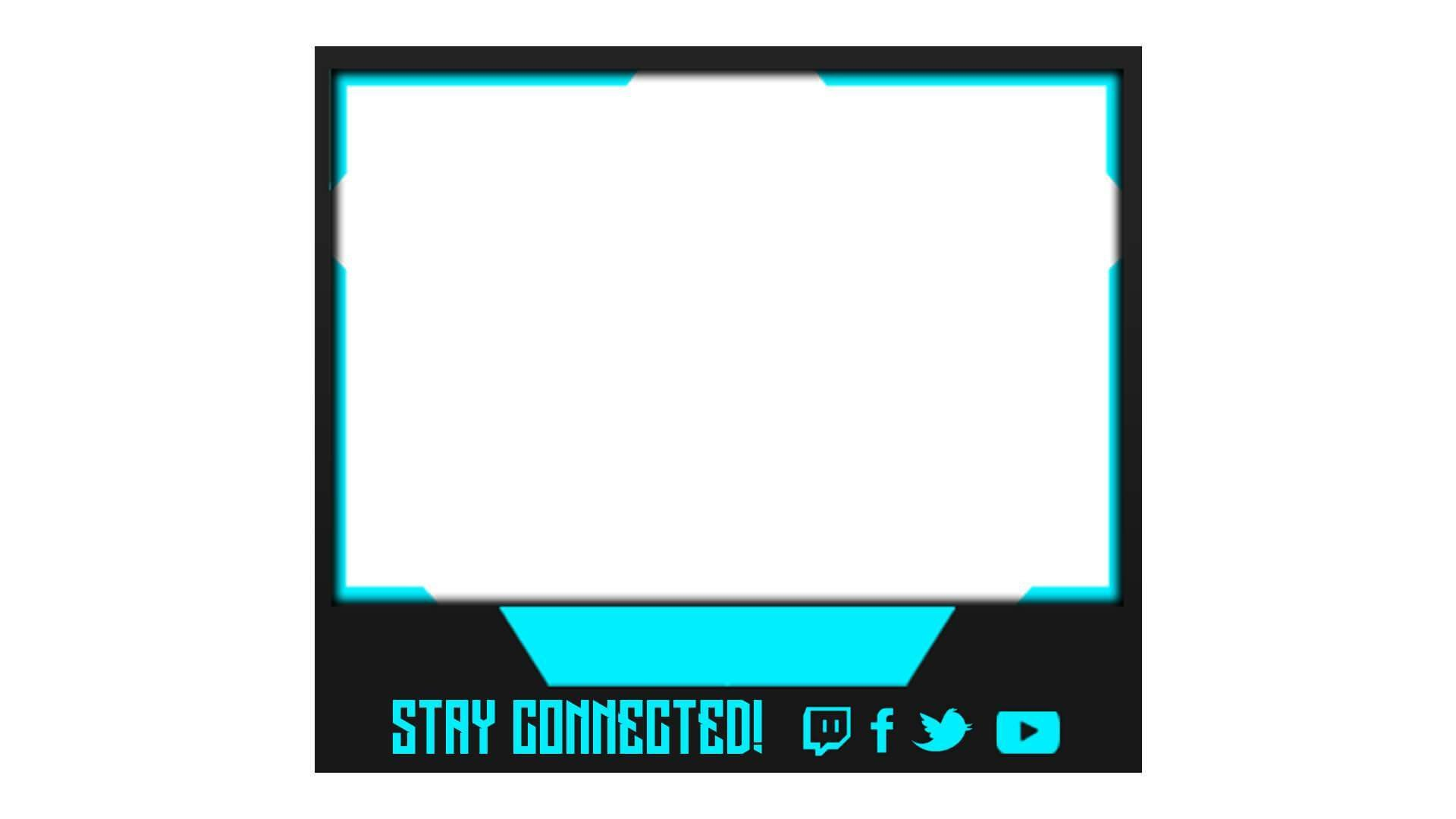 Blue Facecam Border Freedom Facecam Streamlays
