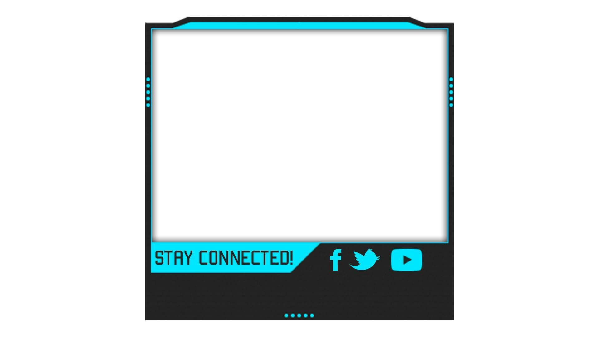 Blue Facecam Border Prime Facecam Streamlays