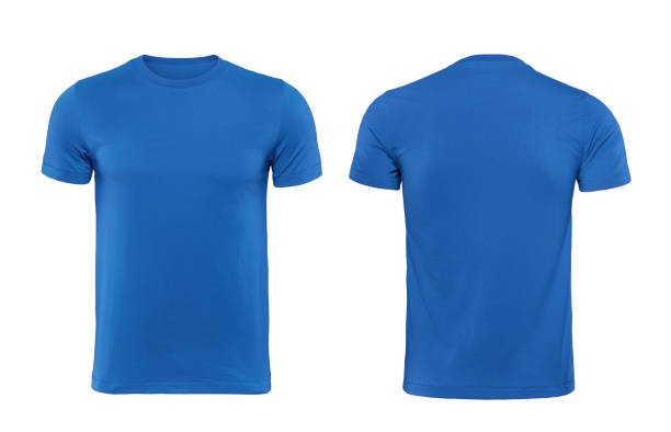 Blue T Shirt Template Best Blank T Shirt Stock S & Royalty Free