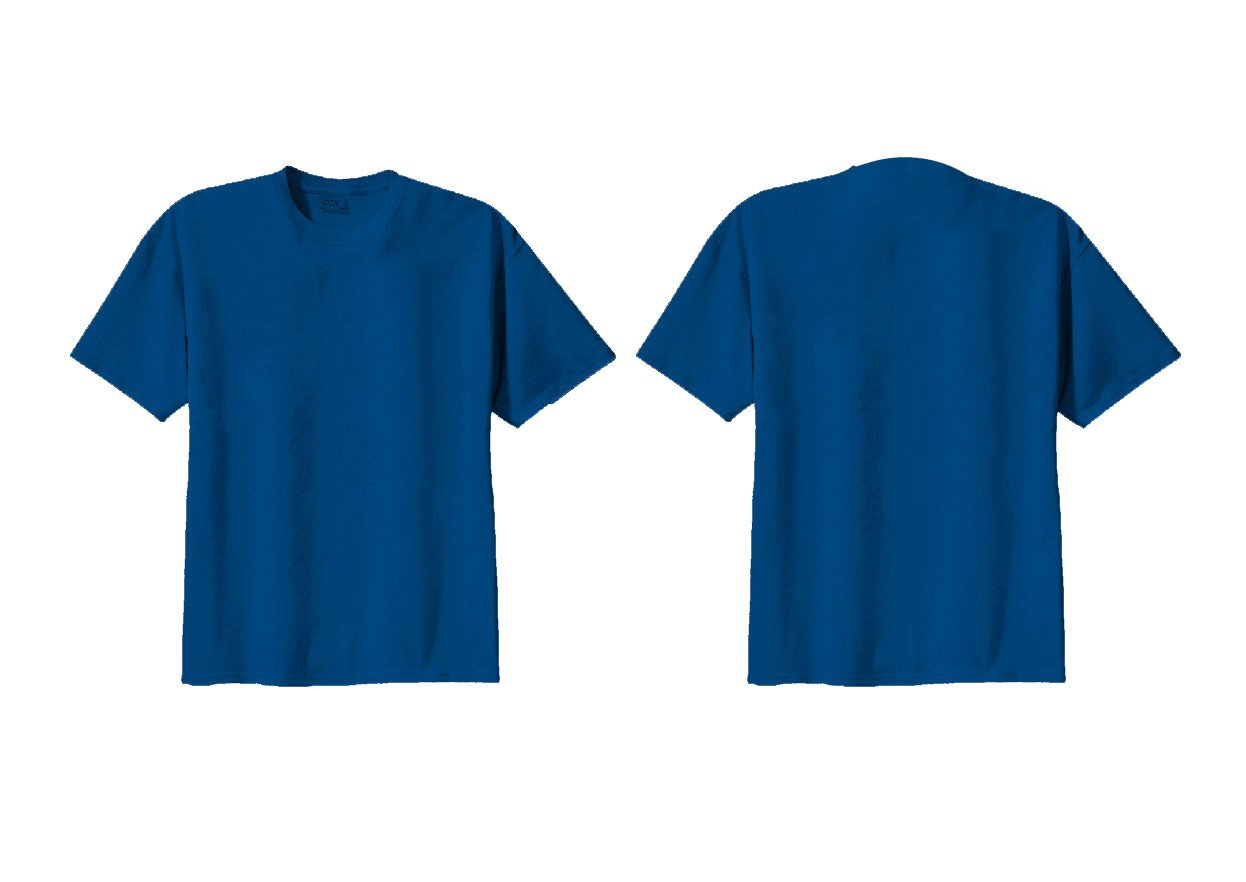 Blue T Shirt Template Free T Shirt Template Download Free Clip Art Free Clip