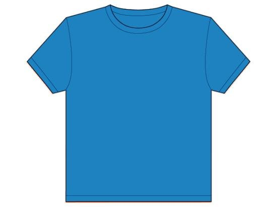 Blue T Shirt Template Light Blue T Shirt Template Clip Art Library