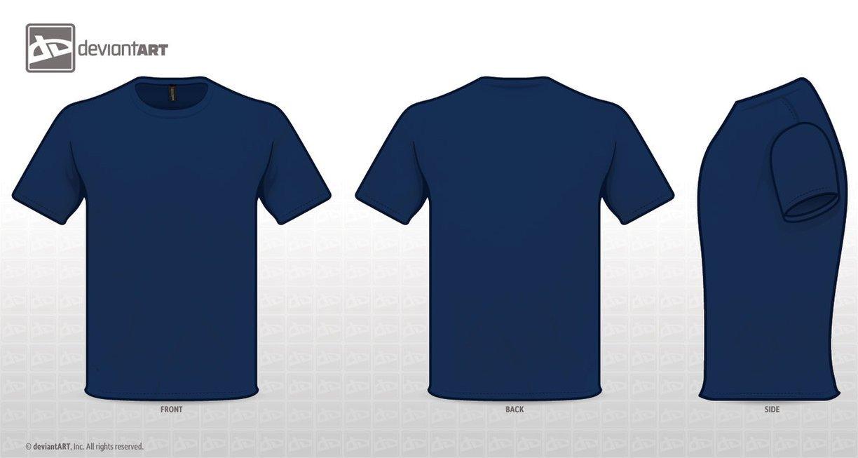 Blue T Shirt Template T Shirt Blue Template by Zombieabstract On Deviantart