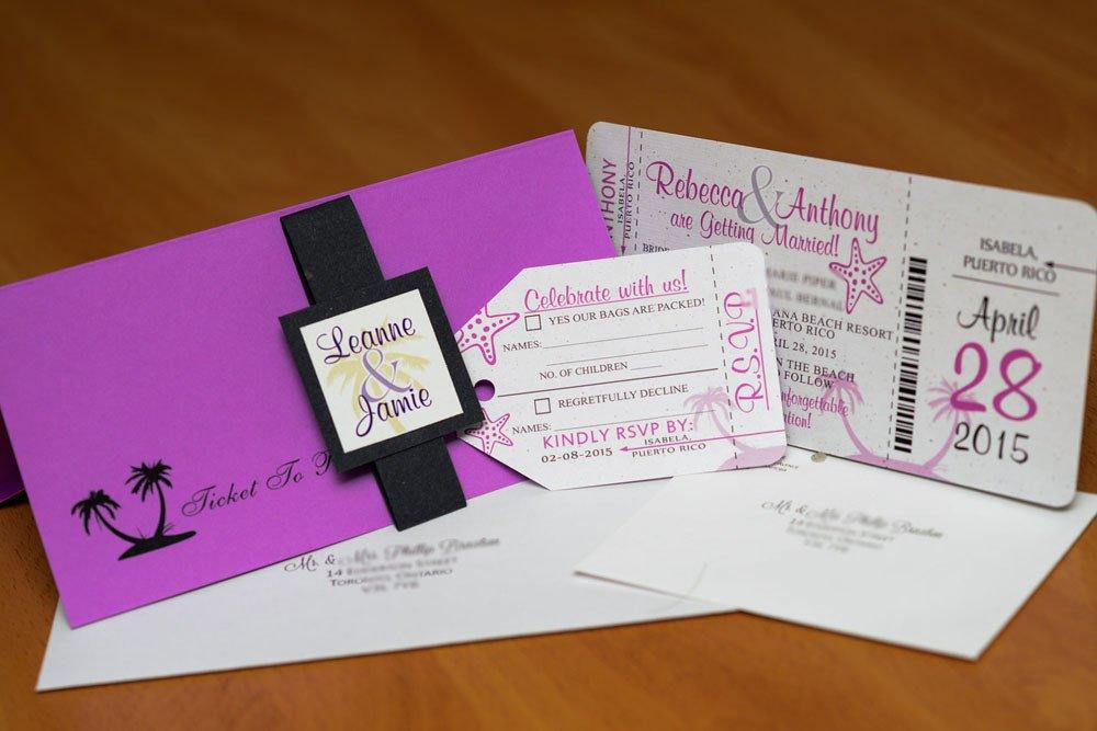 Boarding Pass Wedding Invitations Boarding Pass Invitations for A Destination Wedding
