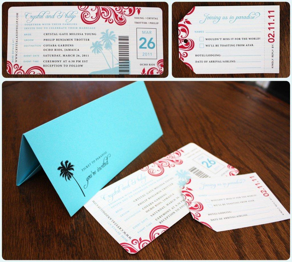 Boarding Pass Wedding Invitations Mehndi Designs 2012 Wedding Invitation