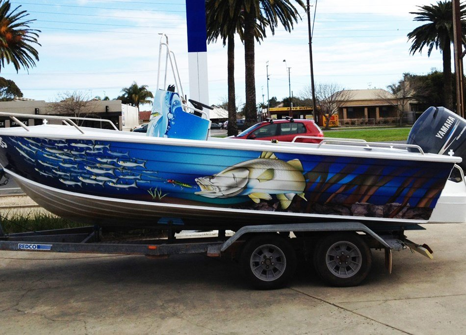 Boat Wrap Design Template 3m Boat Wraps Signlab Vehicle Wraps