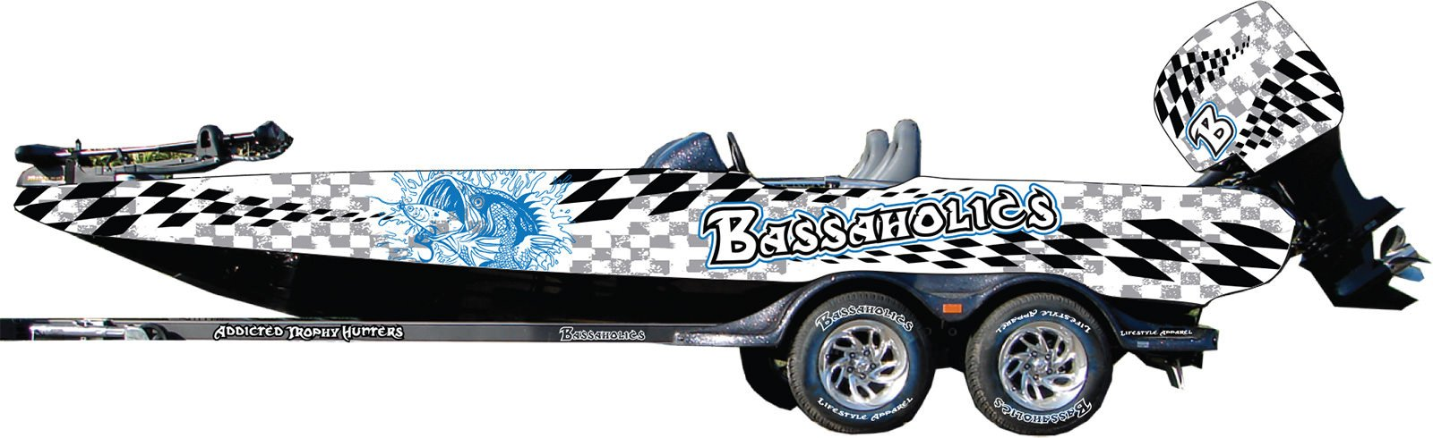 Boat Wrap Design Template Bass Boat Wraps
