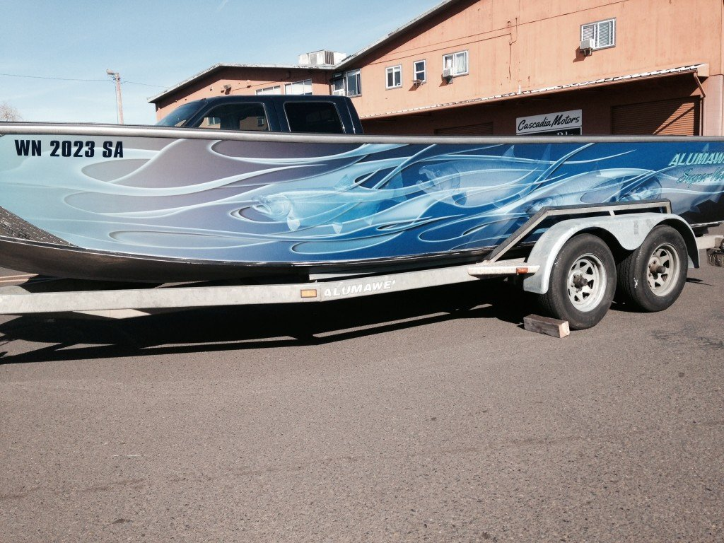 Boat Wrap Design Template Coho Design Makes Boat Graphics and Custom Vinyl Boat Wraps