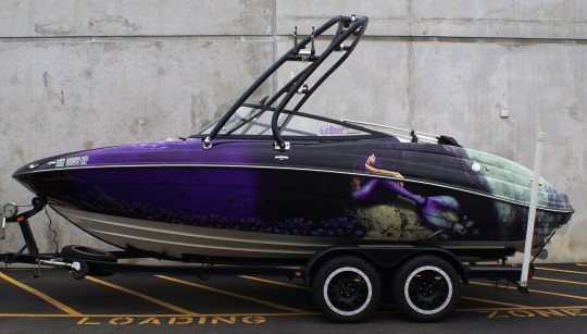 Boat Wrap Design Template News