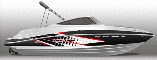 Boat Wrap Design Template Yamaha Boat Graphics – Ipd Jet Ski Graphics