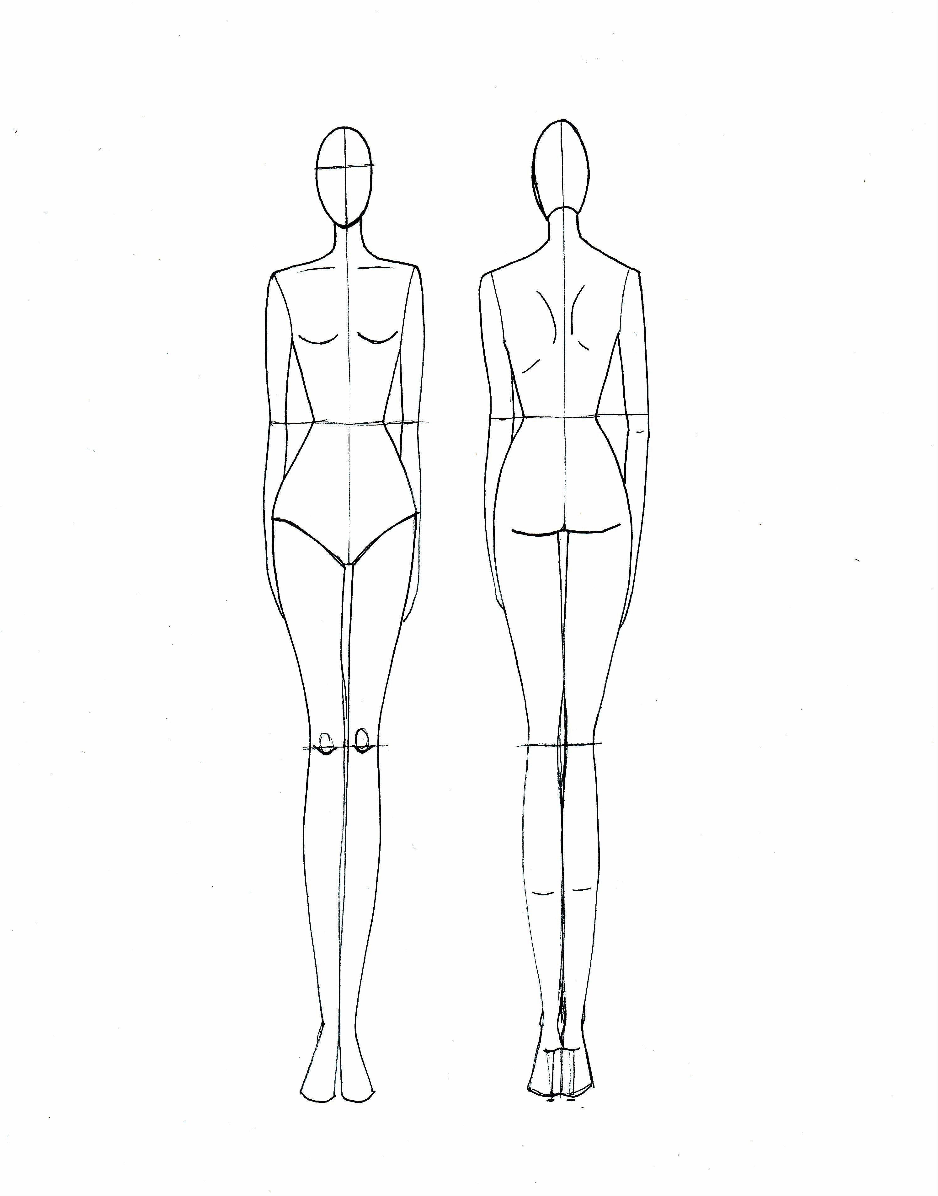 Body Template for Fashion Design 1000 Images About Fashion Croquis On Pinterest