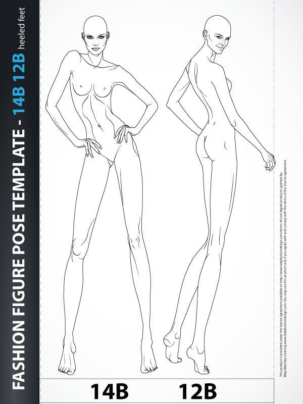Body Template for Fashion Design Best 25 Body Template Ideas On Pinterest