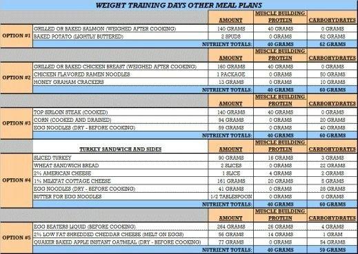 Bodybuilding Meal Planner Template Best 25 Female Bodybuilding T Ideas On Pinterest